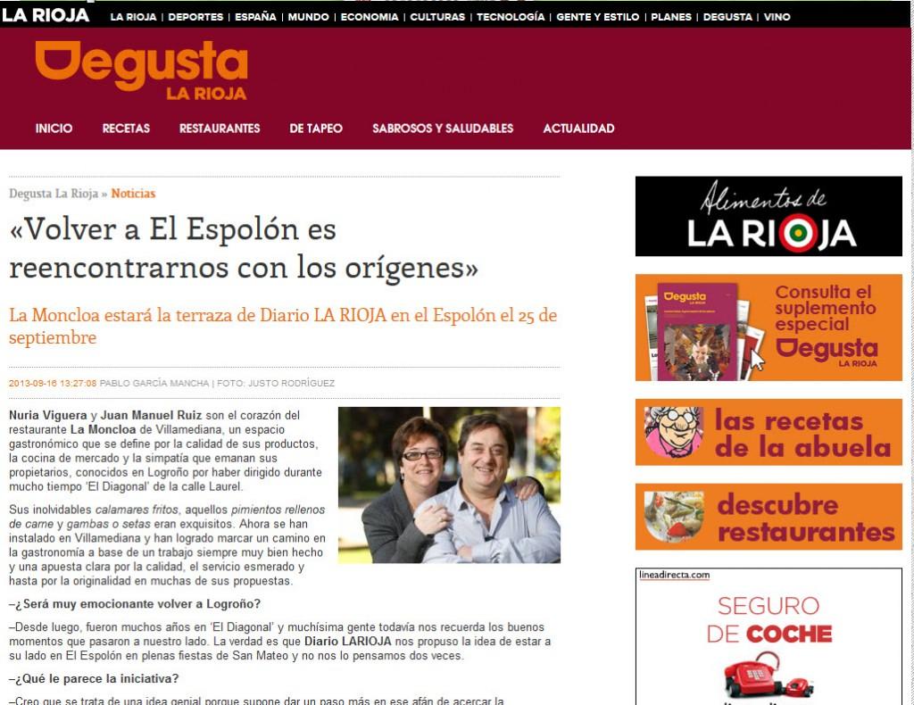 La Moncloa en Degusta